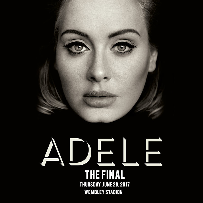 GITAARSHOP HEEMSTEDE ADELE THE FINAL WEMBLEY STADION LONDON